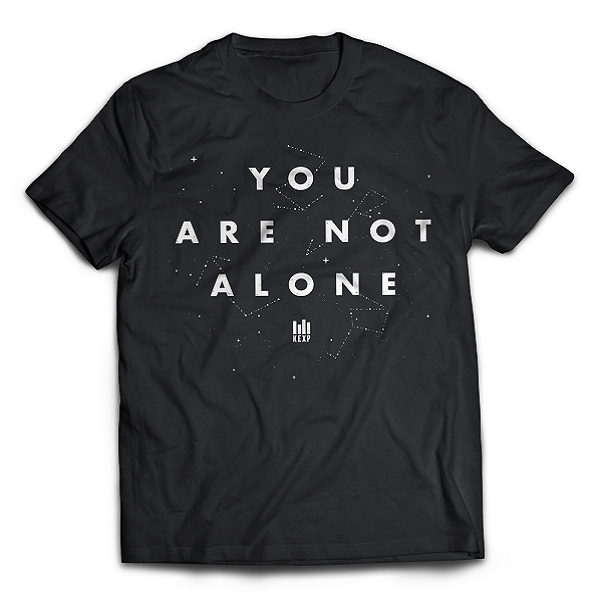 """You Are Not Alone"" Adult T-Shirt"