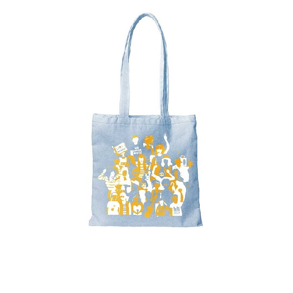 """We Choose Music"" Denim Tote"