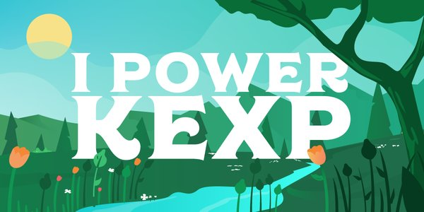 I Power KEXP Twitter or Facebook image