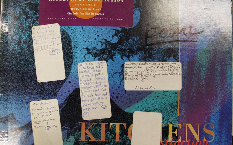 Review Revue: Kitchens of Distinction - Strange Free World